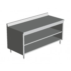 ENCLOSED BASE TABLES  WITH MIDDLE SHELF