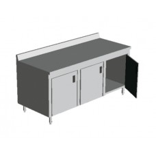 ENCLOSED BASE TABLES with DOORS