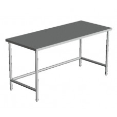 "FLAT TOP OPEN BASE WORK TABLE  30""  Wide"