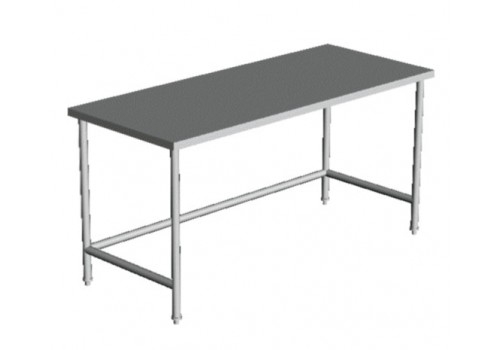FLAT  TOP  OPEN  BASE  WORK  TABLE 24