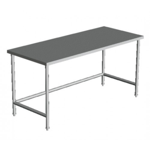 flat top open base work table 30 wide
