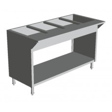 GAS HOT FOOD TABLES