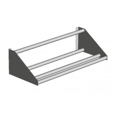 TUBULAR SORTING SHELVES WALL MOUNTED